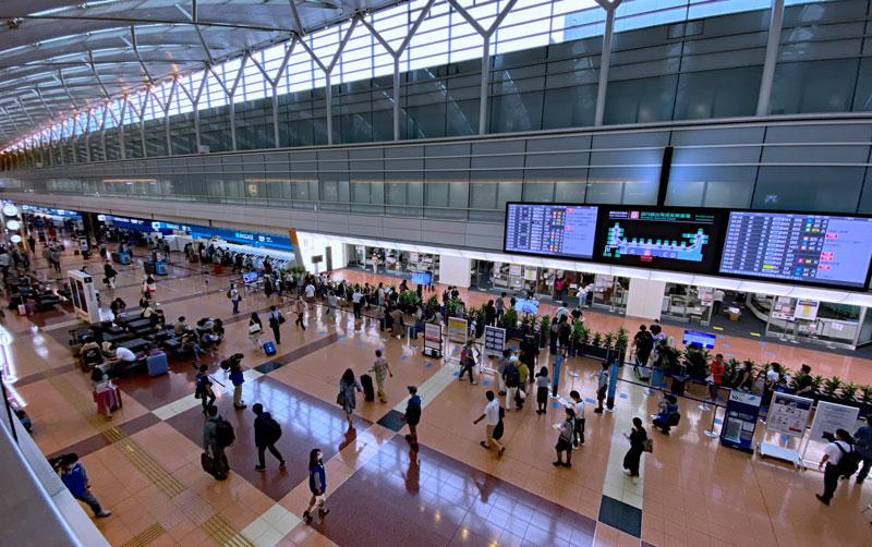 4連休の羽田空港