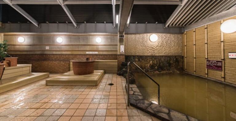 プレミアホテルキャビン札幌の屋上露天風呂
