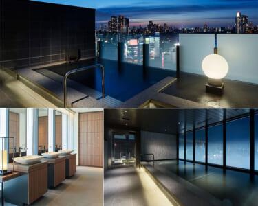 三井ガーデンホテル五反田の露天風呂