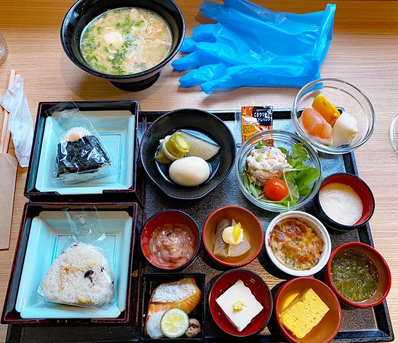 ドーミーイン上野御徒町の朝食