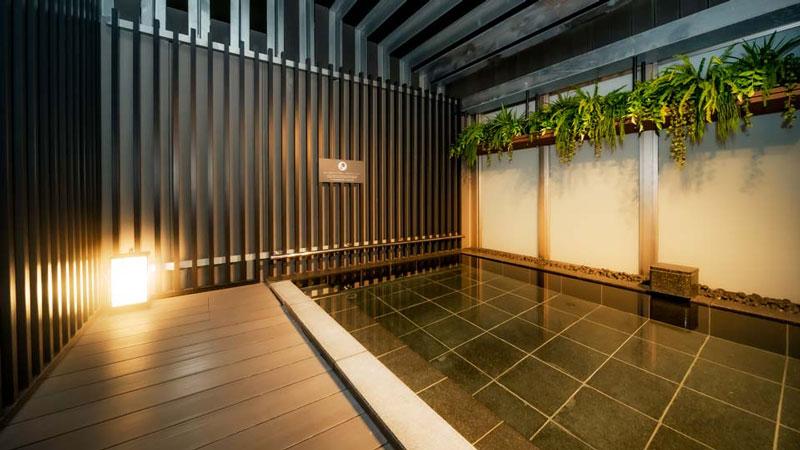 日和ホテル東京銀座EASTの露天風呂