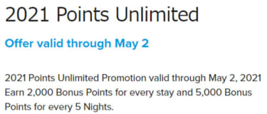 POINTS UNLIMITED(2021年)