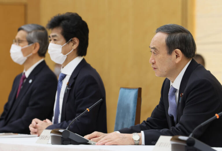 令和3年3月18日 新型コロナウイルス感染症に関する菅内閣総理大臣記者会見