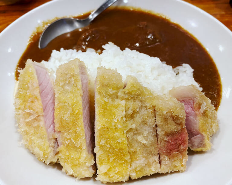 しまや(川崎) ロースカツ&豚バラ煮込みカレー