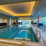 リッツカールトン大阪のプール