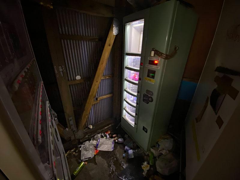 自販機コーナーの内部2