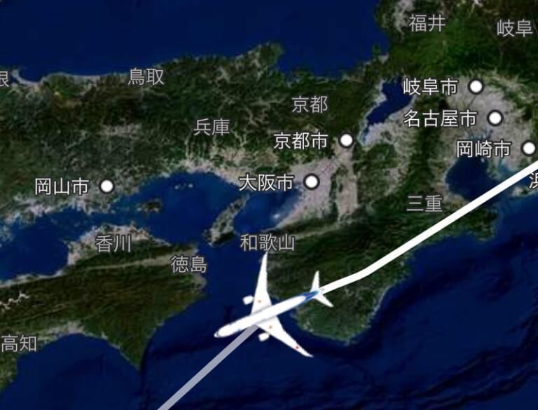 ANA フライトマップ