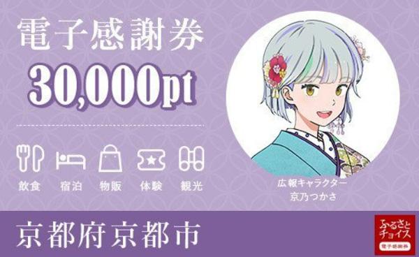 京都市の「ふるさとチョイス電子感謝券」