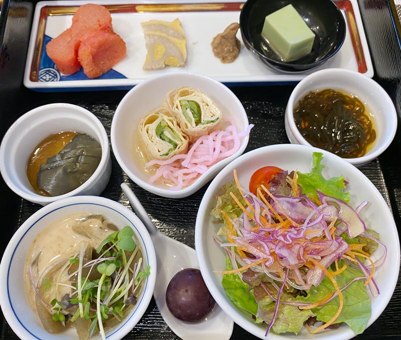 クラウンプラザ福岡 クラウンカフェ 和食プレート